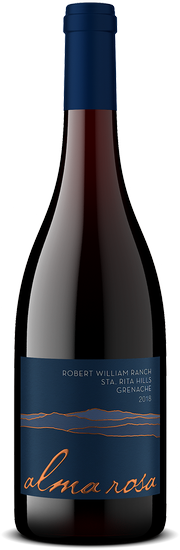 2018 Grenache, Robert William Ranch